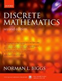 Book Cover Discrete Mathematics 2nd (second) Edition by Biggs, Norman L. published by Oxford University Press, USA (2003)