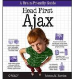 Book Cover Head First Ajax (Head First) (Paperback) - Common