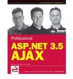 Book Cover Professional ASP.NET 3.5 AJAX (Wrox Programmer to Programmer) (Paperback) - Common