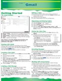 Book Cover Gmail Quick Source Guide by Quick Source (2012) Pamphlet