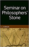 Book Cover Seminar on Philosophers' Stone