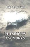 Book Cover De espacios y sombras (Spanish Edition)