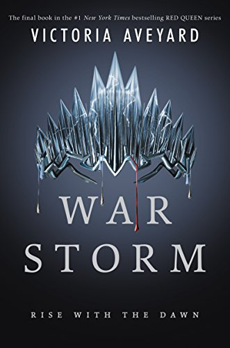 Book Cover War Storm (Red Queen)