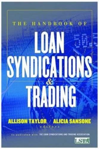 Book Cover The Handbook of Loan Syndications and Trading