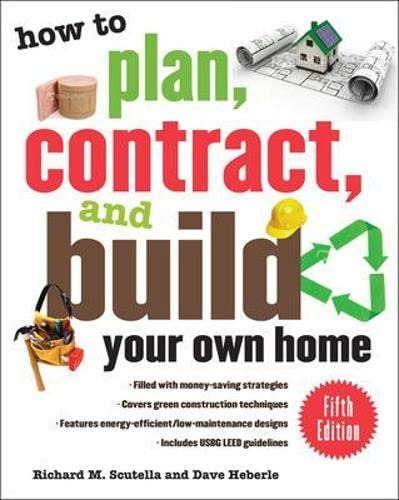 How to plan contract and build your own home fifth for Building your own home checklist