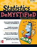 Book Cover Statistics DeMYSTiFieD, 2nd Edition