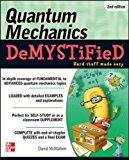 Book Cover Quantum Mechanics Demystified, 2nd Edition