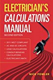 Book Cover Electrician's Calculations Manual, Second Edition