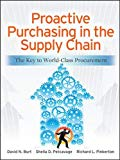 Book Cover Proactive Purchasing in the Supply Chain: The Key to World-Class Procurement