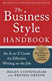 Book Cover The Business Style Handbook, Second Edition:  An A-to-Z Guide for Effective Writing on the Job