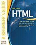 Book Cover HTML: A Beginner's Guide, Fifth Edition