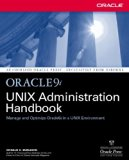 Book Cover Oracle9i UNIX Administration Handbook
