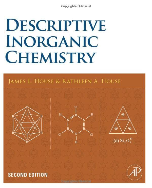 Descriptive Inorganic Chemistry, Second Edition