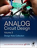 Book Cover Analog Circuit Design Volume Three: Design Note Collection