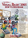 Book Cover Visual Basic 2005 How to Program (3rd Edition)