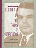 Book Cover Elements of the Theory of Computation (2nd Edition)