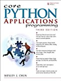Book Cover Core Python Applications Programming (3rd Edition) (Core Series)