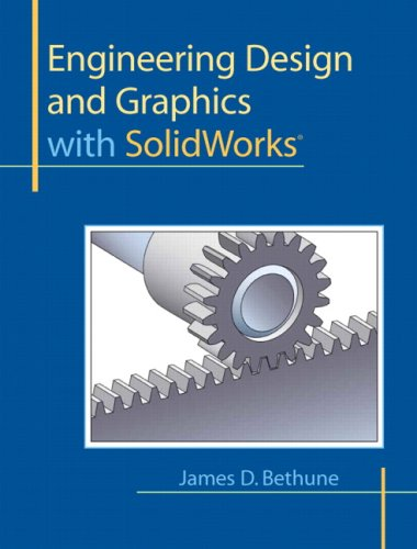 Book Cover Engineering Design and Graphics with SolidWorks