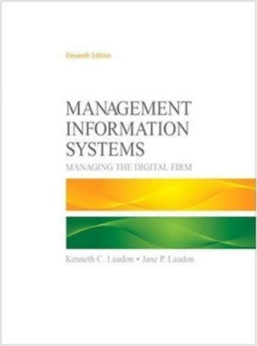 Book Cover Management Information Systems (11th Edition)