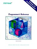Book Cover OSF/MOTIF Programmer's Reference Release 1.2