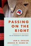 Book Cover Passing on the Right: Conservative Professors in the Progressive University