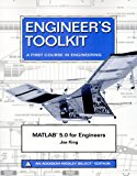 Book Cover MATLAB 5.0 for Engineers (2nd Edition)