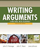 Writing arguments a rhetoric with readings pdf