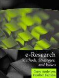 Book Cover E-Research: Methods, Strategies, and Issues