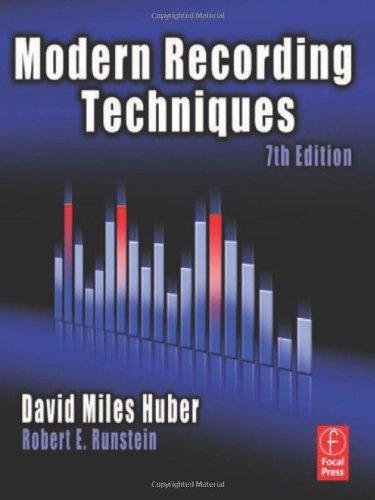 Modern Recording Techniques (Audio Engineering Society