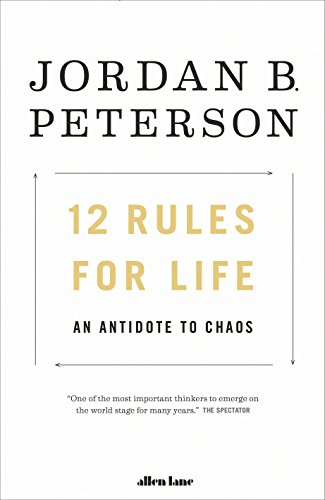 Book Cover 12 Rules For Life [Paperback]
