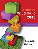 Book Cover Starting Out with Visual Basic 2005 (3rd Edition)