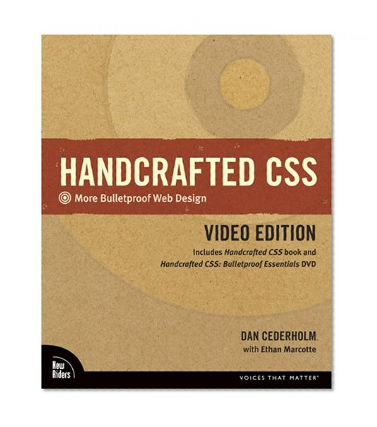 Book Cover Handcrafted CSS: More Bulletproof Web Design, Video Edition (includes Handcrafted CSS book and Handcrafted CSS: Bulletproof Essentials DVD)