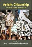 Book Cover Artistic Citizenship: A Public Voice for the Arts