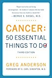 Book Cover Cancer: 50 Essential Things to Do: Third Edition