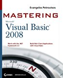Book Cover Mastering Microsoft Visual Basic 2008