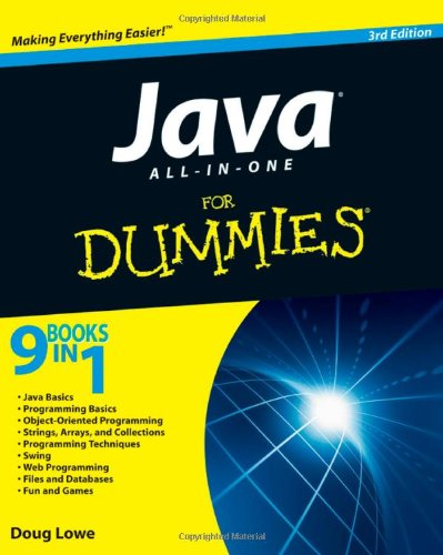 Book Cover Java All-in-One For Dummies