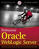 Book Cover Professional Oracle WebLogic Server