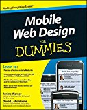 Book Cover Mobile Web Design For Dummies