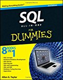 Book Cover SQL All-in-One For Dummies