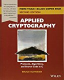 Book Cover Applied Cryptography: Protocols, Algorithms, and Source Code in C