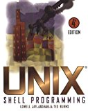 Book Cover UNIX Shell Programming
