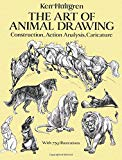 Book Cover The Art of Animal Drawing: Construction, Action Analysis, Caricature (Dover Art Instruction)