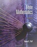 Book Cover Finite Mathematics, 7th Edition