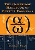 Book Cover The Cambridge Handbook of Physics Formulas