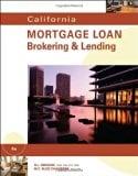 Book Cover California Mortgage Loan Brokering and Lending