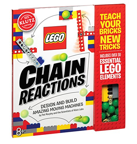 Book Cover Klutz Lego Chain Reactions Science & Building Kit, Age 8
