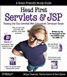 Book Cover Head First Servlets and JSP: Passing the Sun Certified Web Component Developer Exam (SCWCD)