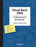 Book Cover Visual Basic 2005: A Developer's Notebook