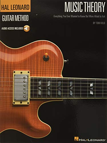 Book Cover Music Theory for Guitarists: Everything You Ever Wanted to Know But Were Afraid to Ask (Guitar Method)