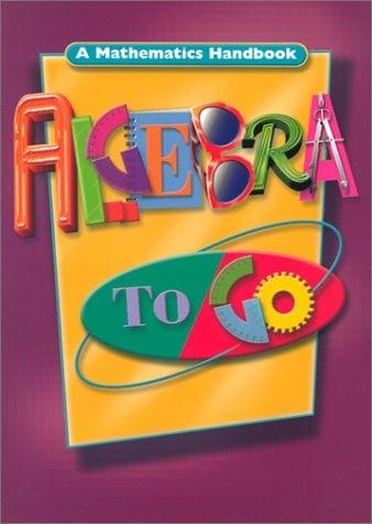 Algebra to Go: A Mathematics Handbook